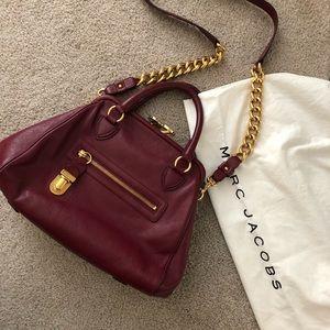 Marc Jacobs Ref Leather Quilt Bag
